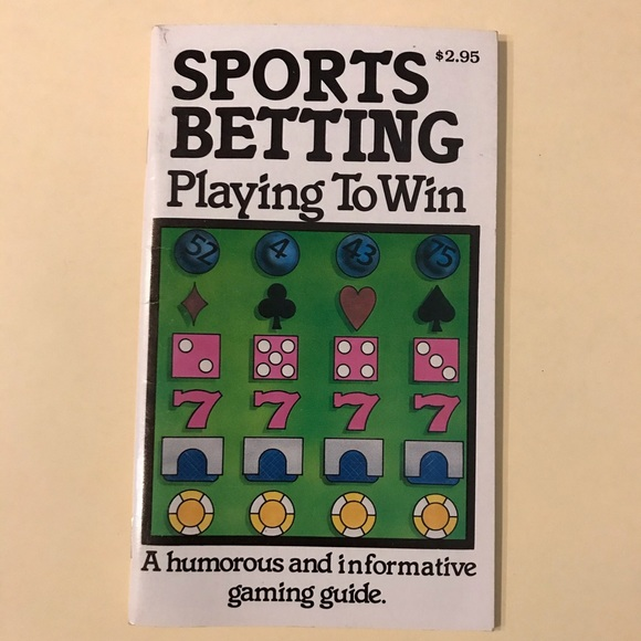 """Sports Betting Playing To Win"" booklet"